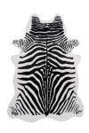 Kayoom Vloerkleed 'Desert 125' kleur Zwart / Wit, 160 x 230cm