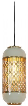 Light & Living Hanglamp 'Rohat' 17cm, warm grijs