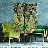 Urban Cotton Wandkleed 'Urban Jungle', 190 x 145cm