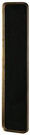 BePureHome Spiegel 'Slender' 145 x 31cm, kleur Antique Brass