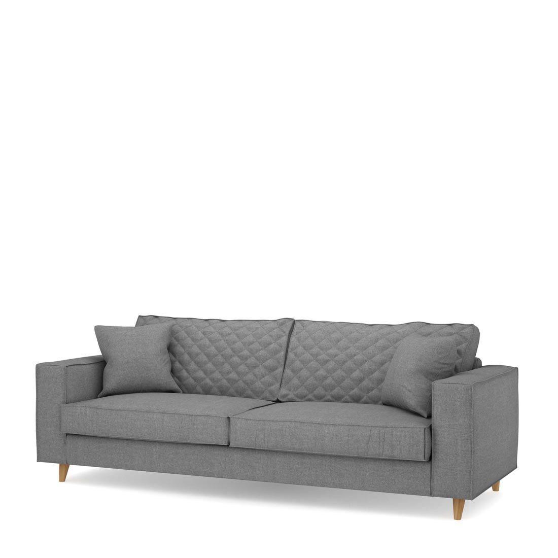 Rivièra Maison 3,5-zits Bank 'Kendall' Cotton, kleur Grey