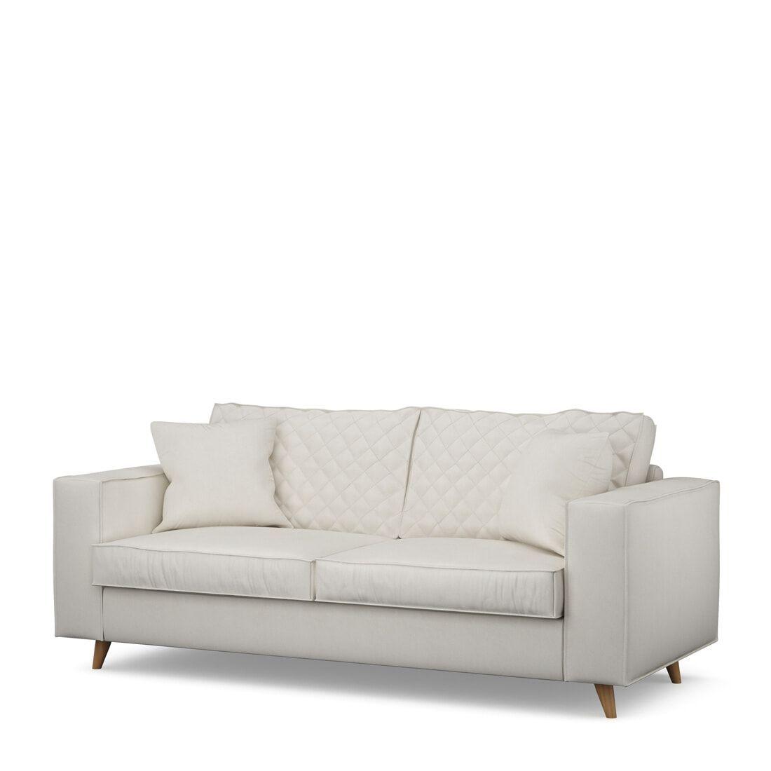 Rivièra Maison 2,5-zits Bank 'Kendall' Oxford Weave, kleur Alaskan White