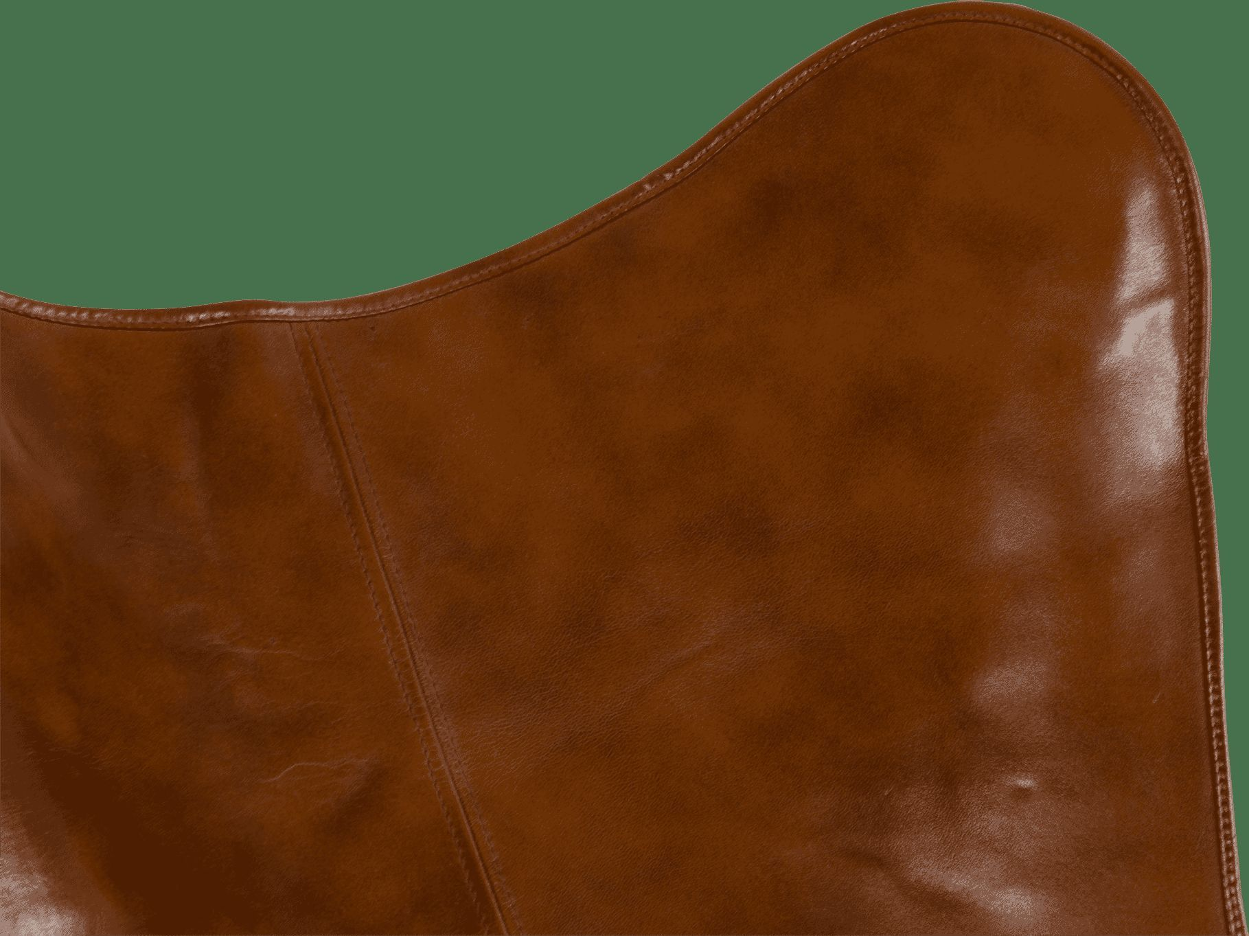 Lesli Vlinderstoel 'Buffalo' kleur Bruin