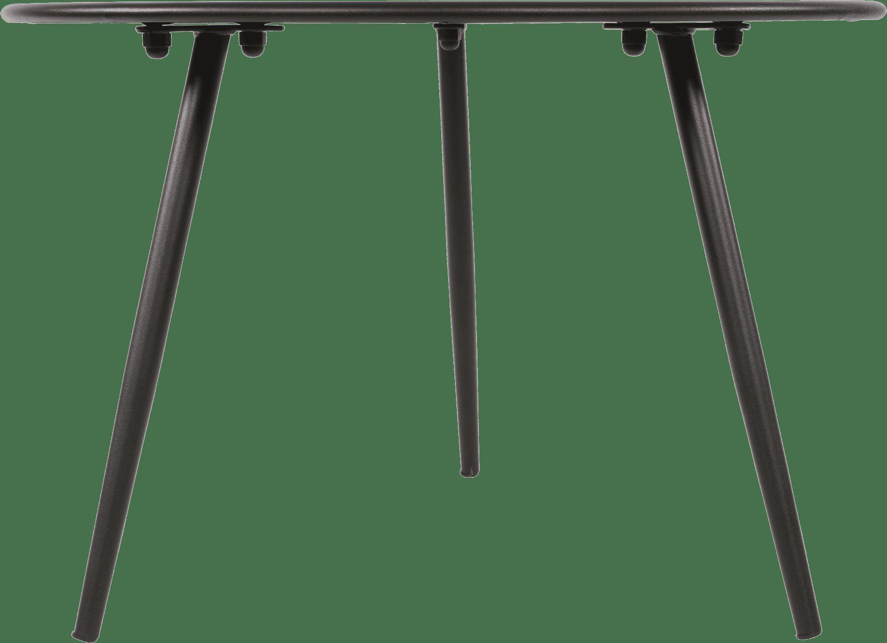 Lesli Outdoor Bijzettafel 'Rafael' Ø45 x 35cm, kleur Zwart