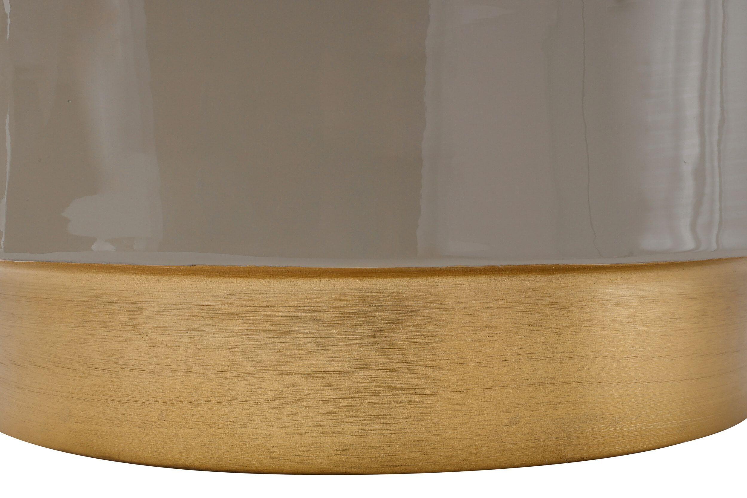 Kayoom Bijzettafel 'Art Deco 375' kleur Taupe