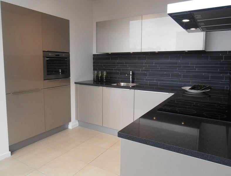 Keuken Design Vriend : Design keuken in champagne hoogglans [47275]