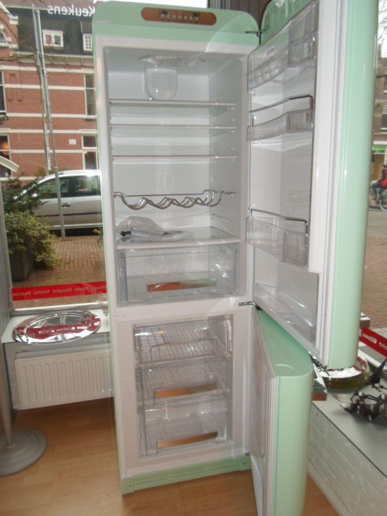 vrijstaande koelkast smeg 53887. Black Bedroom Furniture Sets. Home Design Ideas