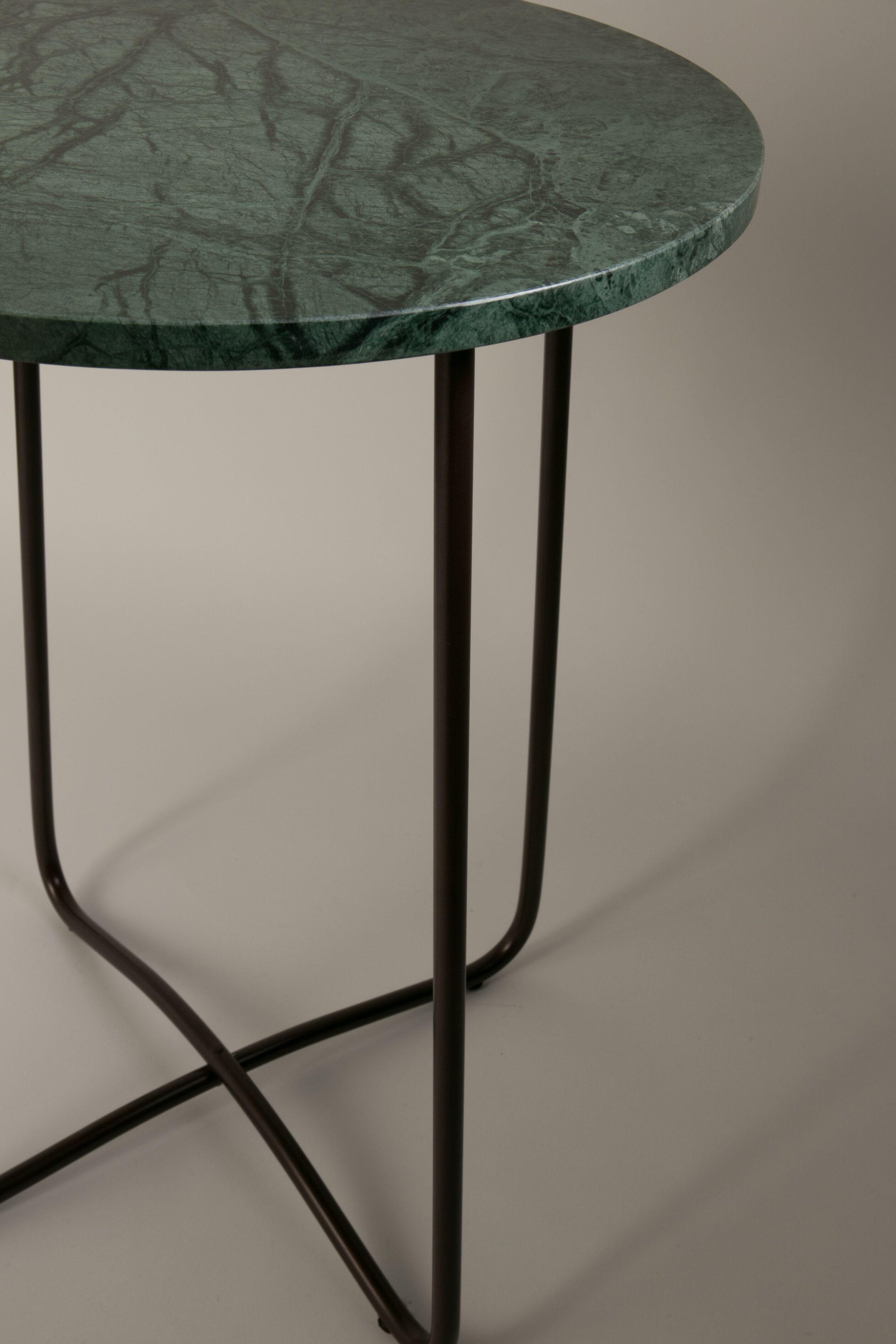Dutchbone Bijzettafel 'Emerald' Marmer, 41cm