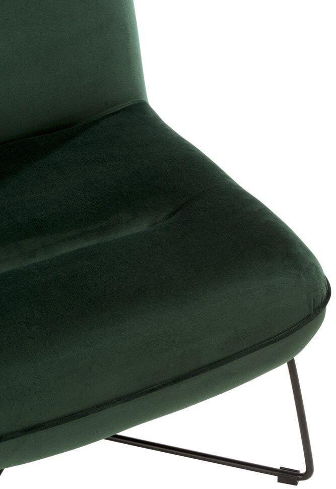 J-Line Fauteuil 'Stephan' kleur Groen