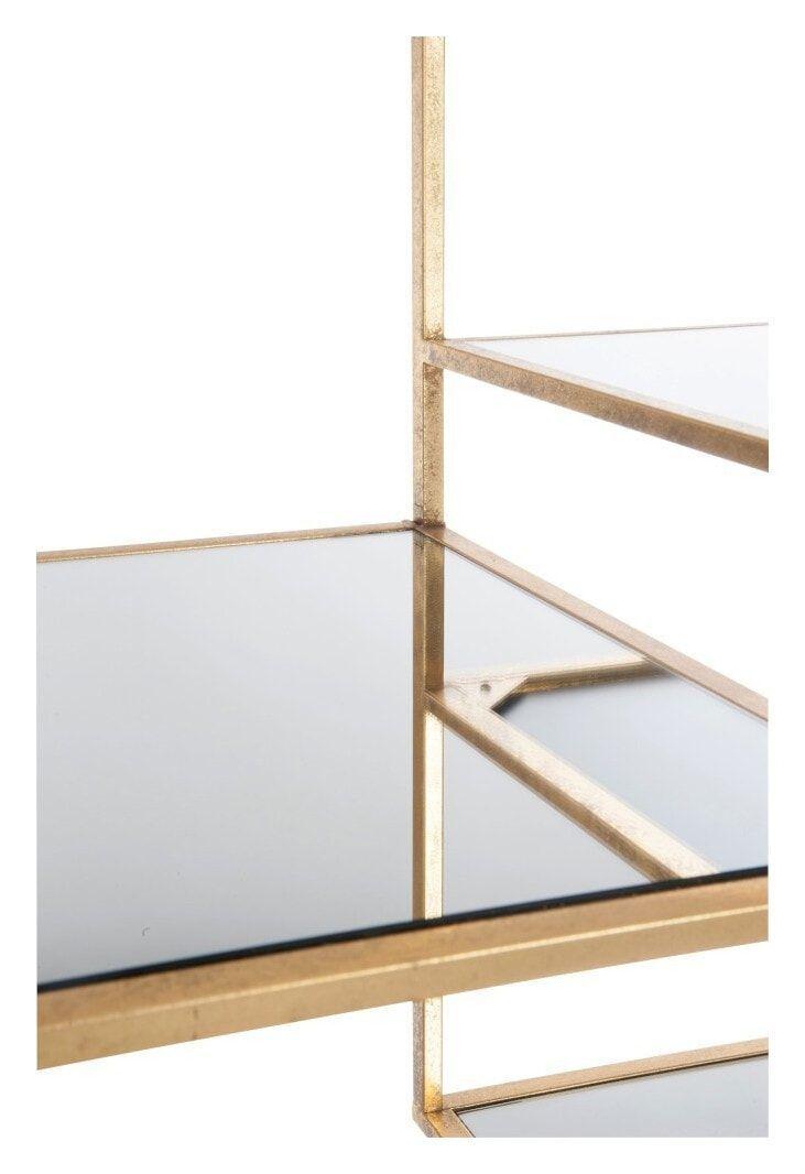 J-Line Wandkast 'Paule' 177 x 82cm, kleur Goud